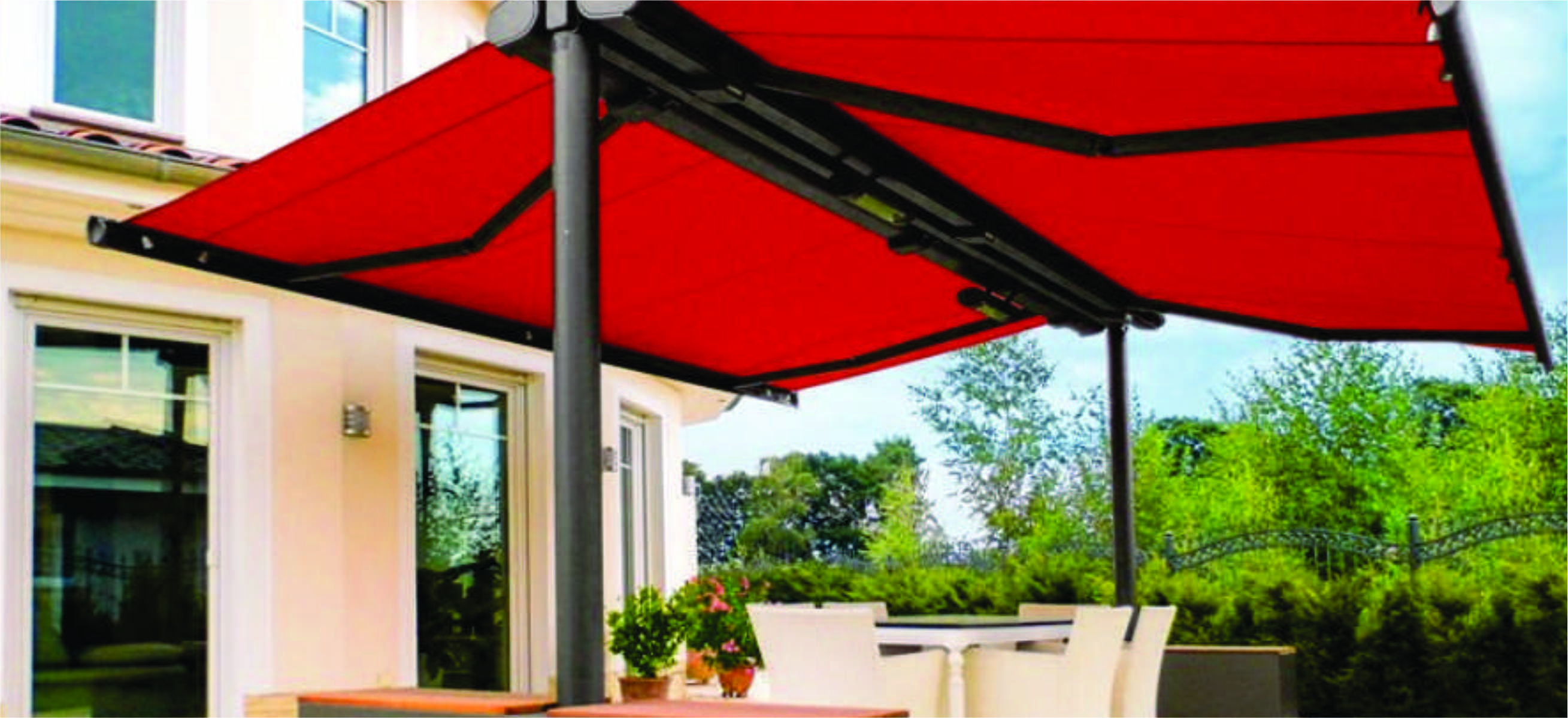 outdoor standard blinds shade solutions awning brisbane creative awnings side view roller sails